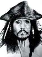 Jack Sparrow - Johnny Depp by mslaurnq