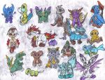 Fakemon Collage 4 by Keikoku147