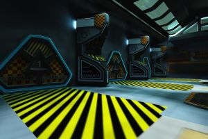 Hangar Bay OBJ by dmaland