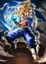 FINAL KAMEHAMEHA !! - Dragon Ball Vegito by CaptainJuu