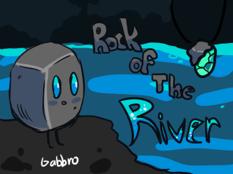 Rock of the river  by Eruka-steam
