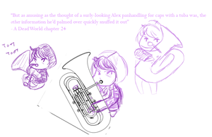 Why are tubas so hard to draw? by sonikkuruzu
