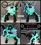 F O R  SA L E ! + Lifesize Queen Chrysalis + by LionCubCreations
