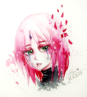 Sad Cherry Blossom by Kyo-Chans
