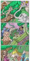 The Dancing Machine - Brazilian Forest Party no.9 by aarongharris