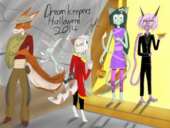 Dreamloween 2014 by ZxyonRhysivz