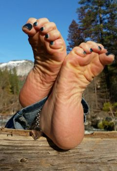 Feet in the Forest (Series) by Bigfootlittlefoot