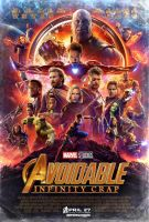 If Movie Posters Were Honest - Avengers 3 by childlogiclabs