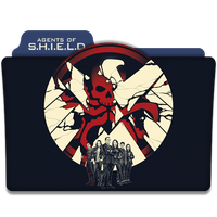 Agents Of S.H.I.E.L.D. : TV Series Folder Icon v4 by DYIDDO
