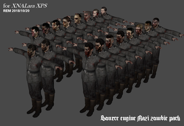 Source engine Nazi zombies for XPS (re-up) by DigitalExplorations