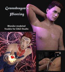 Freebie torus piercing by greendragon-gecko