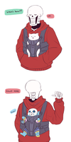 Where's Sans? by chaoticshero