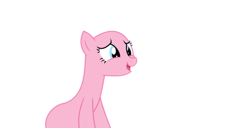 I gonna shine ! Earth pony base Request by Pexxastar-Bases