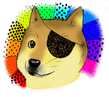 PIRATE DOGE YAY ~~~ by FuyuNeko0
