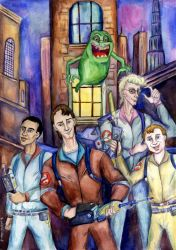 The real Ghostbusters by Le-ARi