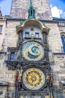 Prague astronomical clock by ShlomitMessica