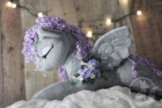 Carousel Custom Grey Pegasus - Sold by LadyLittlefox