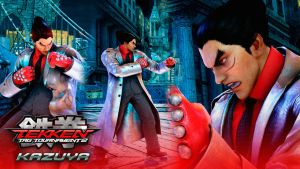 TEKKEN Tag Tournament 2 Inspired: KAZUYA MISHIMA by mattplara