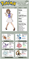 Trainer Profile: Rosie (Bel-Thesweet Sylveon) by WillDynamo55