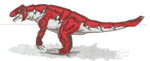 Groudon realistic color by EmperorDinobot