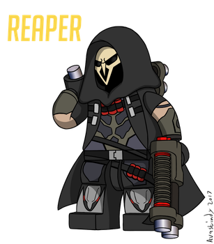 Lego Reaper by Avastindy