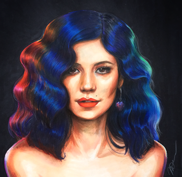 Marina + the Diamonds: FROOT by arseniic