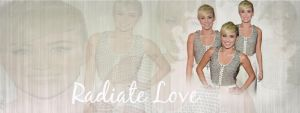 +Radiate Love Portada by MiliDirectionerJB