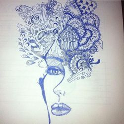 Doodle During a long meeting by JamieLeeMayfield