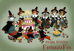 The Pilgrim Fathers Birthday cake of FortunataFox by FairytalesArtist