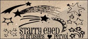 Stary Eyed by PervoiBrushes