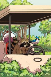 REGULAR SHOW Issue 2 variant cover by MyNameIsMad