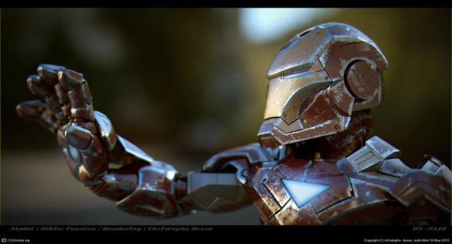 mini iron man by xtrm3d