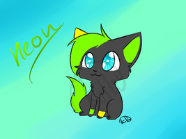 :ChibiCom: Neon by killercats