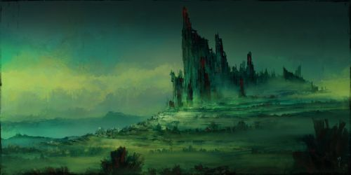 Creepy Castle by ChrisCold