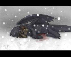Hold, Toothless.... by Keitronic