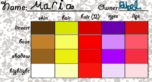 Maria Palette by RebelWinxGirl