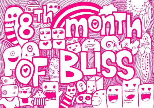 doodle:8th month of bliss by andreakris