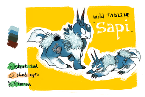 CH / / / Sapi the Tadline by Luluugah
