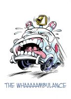 The WHaaaaambulance by SimonFraser