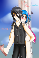 Freezing: Hatil and Luana by XxPRxX117