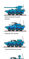 Sentinel Union Of Worlds IFV by EmperorMyric