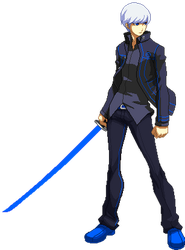 Yu Narukami Sprite Animation (PS System Color) by SegGel2009