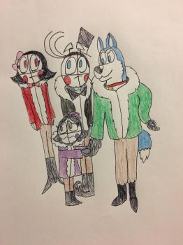 Walking on a dark and icy cavern by FuntimeMemez2018
