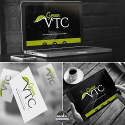 Logo Green VTC  by AASKA-CREA