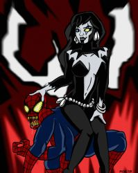 Shriek and Doppelganger- Maximum Mother and Cub by Dreven