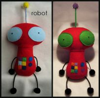 Robot by plushrooms