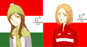 (APH) PolHun - Olympic Winter 2018 by himurayame125