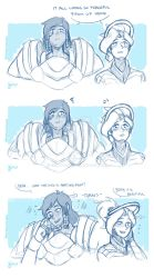 Gays In Space .Pharmercy by sexyfairy