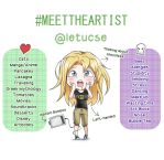 ID_ Meet the Artist by Letucse