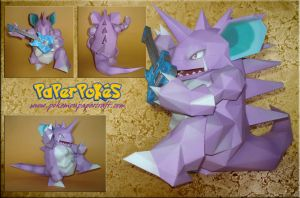 Guitar Hero Nidoking Papercraf